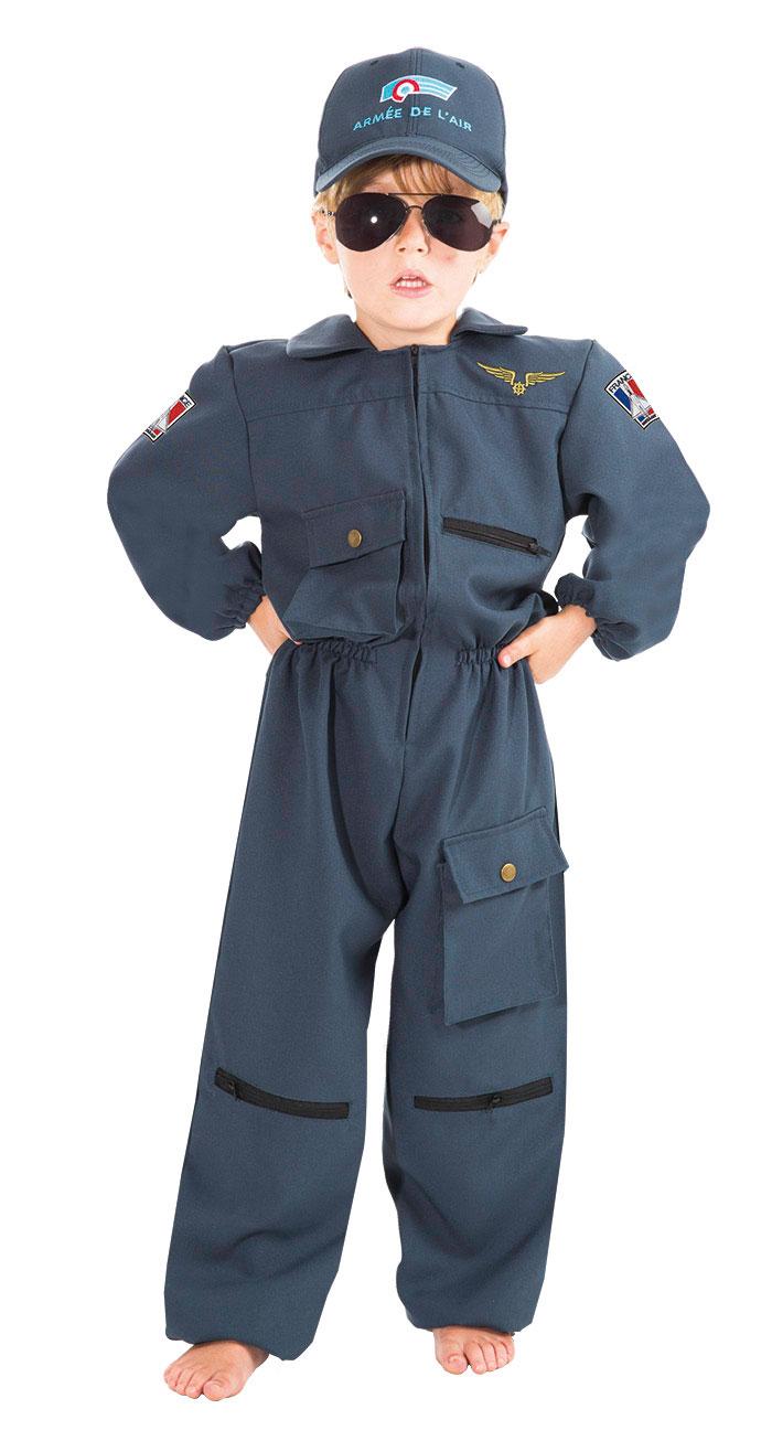 costume enfant luxe pilote de chasse taille 104 cm 116 cm et 128 cm chaks c4108 le. Black Bedroom Furniture Sets. Home Design Ideas
