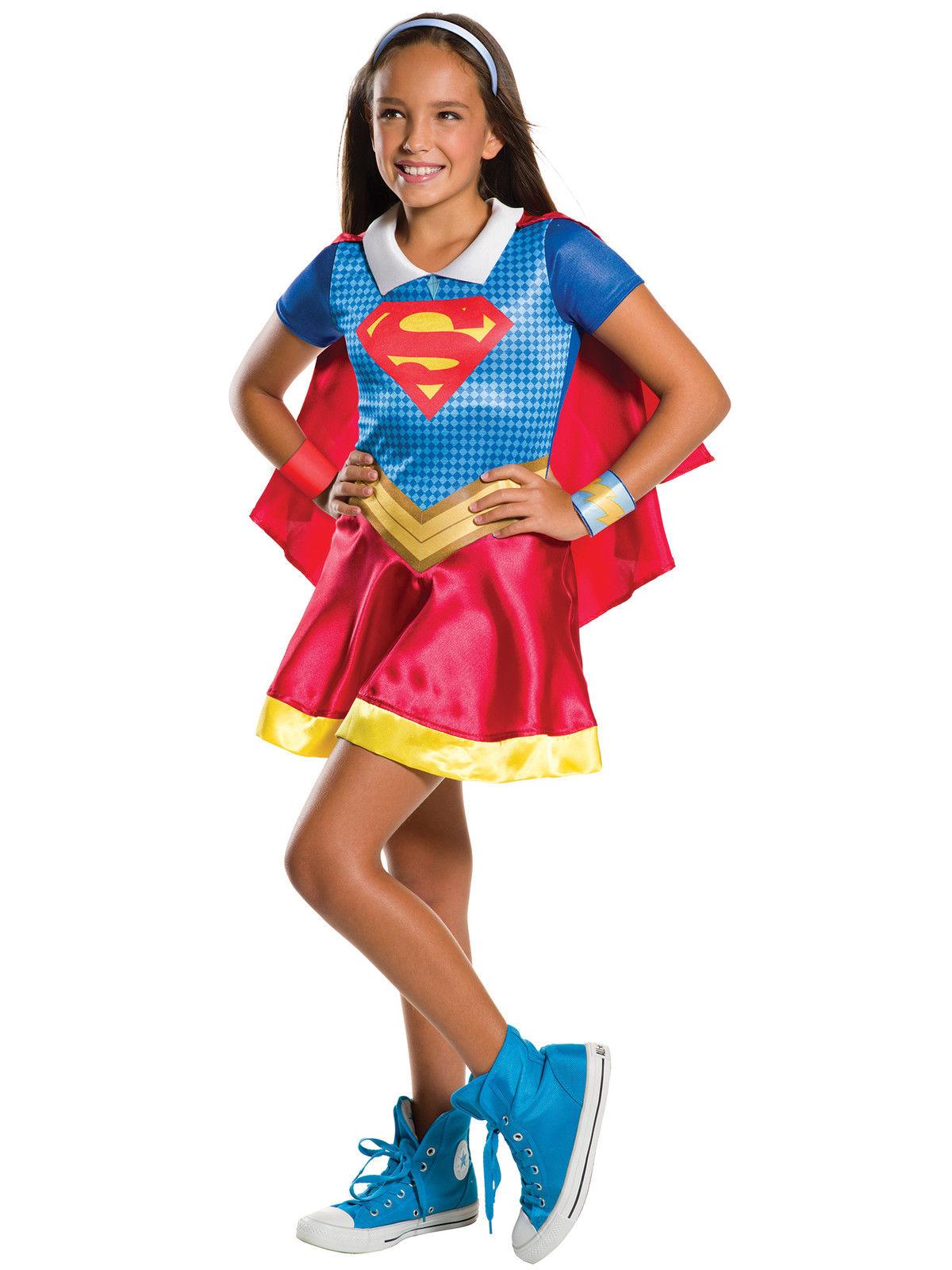 costume fille super hero girl super girl 5 7 ansjpg - Super Heros Fille
