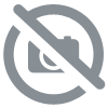 Ballon Alu Qualatex forme de Clap de cinéma Hollywood 45 cm